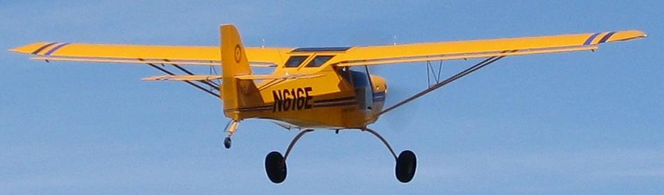 Aerotrek taildragger