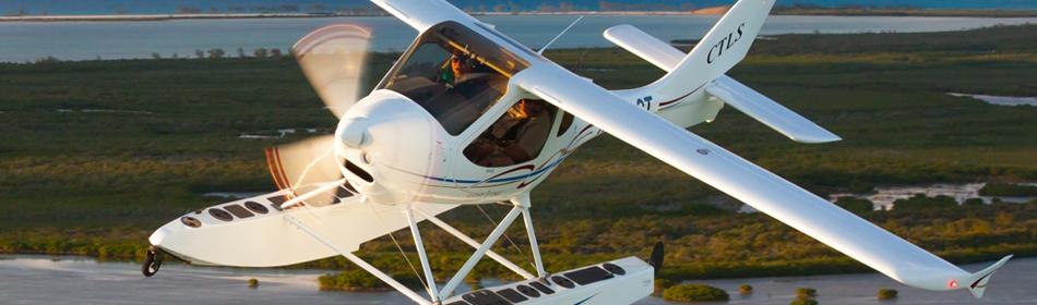 Flight Design CTLS Floatplane (JL photo)